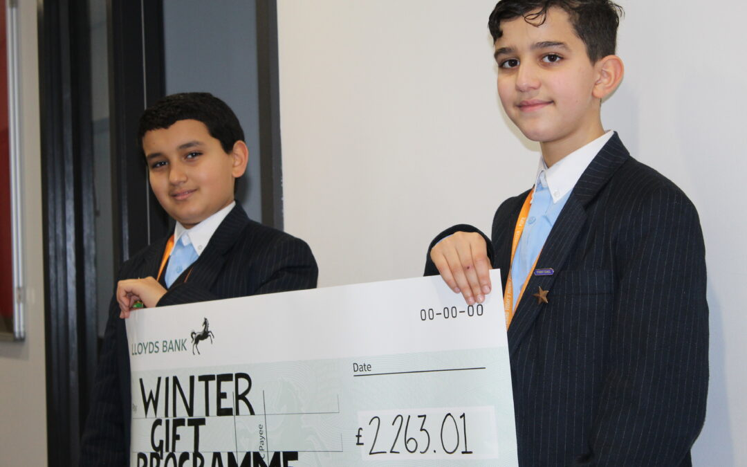 Pupils help Manchester's homeless with charity drive